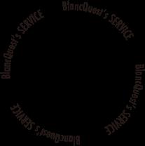 Blanc Quest Service accent